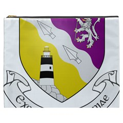County Wexford Coat of Arms  Cosmetic Bag (XXXL)