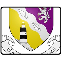 County Wexford Coat of Arms  Double Sided Fleece Blanket (Medium)