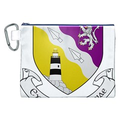 County Wexford Coat of Arms  Canvas Cosmetic Bag (XXL)