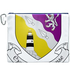 County Wexford Coat of Arms  Canvas Cosmetic Bag (XXXL)