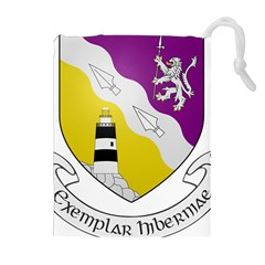County Wexford Coat of Arms  Drawstring Pouches (Extra Large)