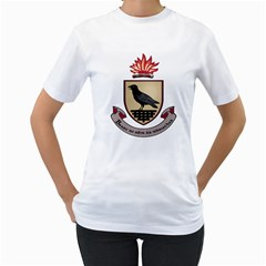 County Dublin Coat of Arms  Women s T-Shirt (White) (Two Sided)