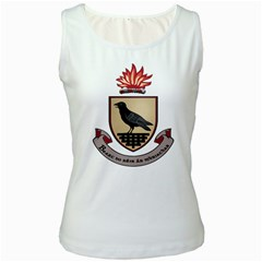 County Dublin Coat of Arms  Women s White Tank Top