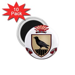 County Dublin Coat of Arms  1.75  Magnets (10 pack)