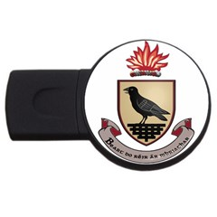 County Dublin Coat of Arms  USB Flash Drive Round (2 GB)