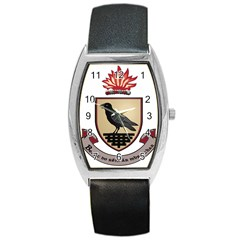 County Dublin Coat of Arms  Barrel Style Metal Watch