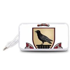 County Dublin Coat of Arms  Portable Speaker (White)