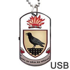 County Dublin Coat of Arms  Dog Tag USB Flash (One Side)