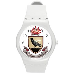 County Dublin Coat of Arms  Round Plastic Sport Watch (M)