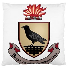 County Dublin Coat of Arms  Large Cushion Case (Two Sides)