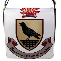 County Dublin Coat of Arms  Flap Messenger Bag (S)