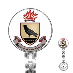 County Dublin Coat of Arms  Stainless Steel Nurses Watch