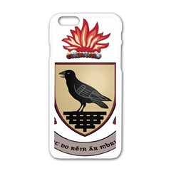 County Dublin Coat of Arms  Apple iPhone 6/6S White Enamel Case