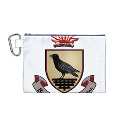 County Dublin Coat of Arms  Canvas Cosmetic Bag (M)