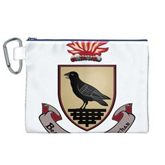 County Dublin Coat of Arms  Canvas Cosmetic Bag (XL)