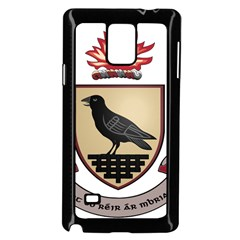 County Dublin Coat of Arms  Samsung Galaxy Note 4 Case (Black)