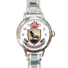 County Dublin Coat of Arms  Round Italian Charm Watch