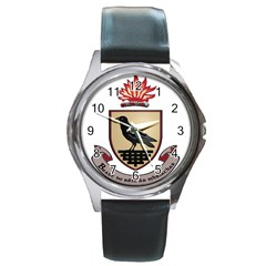 County Dublin Coat of Arms  Round Metal Watch