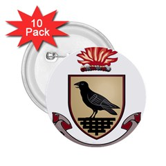 County Dublin Coat of Arms  2.25  Buttons (10 pack)