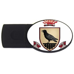 County Dublin Coat of Arms  USB Flash Drive Oval (2 GB)