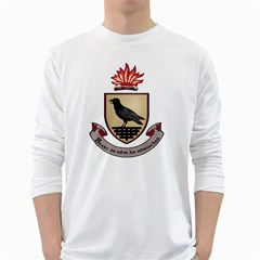 County Dublin Coat of Arms  White Long Sleeve T-Shirts