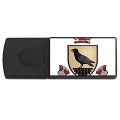 County Dublin Coat of Arms  USB Flash Drive Rectangular (4 GB)