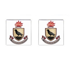 County Dublin Coat of Arms  Cufflinks (Square)