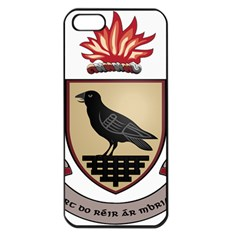 County Dublin Coat of Arms  Apple iPhone 5 Seamless Case (Black)