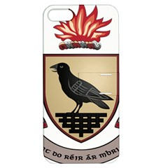 County Dublin Coat of Arms  Apple iPhone 5 Hardshell Case with Stand