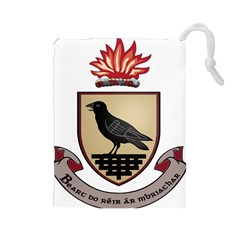 County Dublin Coat of Arms  Drawstring Pouches (Large)