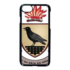 County Dublin Coat of Arms  Apple iPhone 7 Seamless Case (Black)