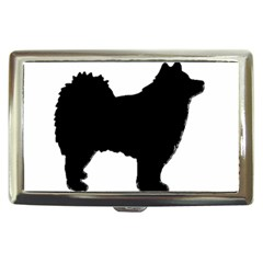 Finnish Lapphund Silhouette Black Cigarette Money Cases