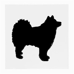 Finnish Lapphund Silhouette Black Medium Glasses Cloth (2-Side)