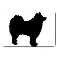 Finnish Lapphund Silhouette Black Large Doormat