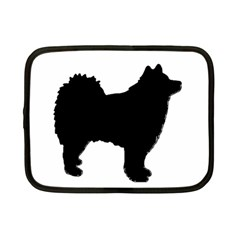 Finnish Lapphund Silhouette Black Netbook Case (Small)
