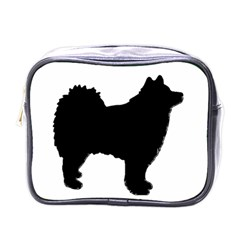 Finnish Lapphund Silhouette Black Mini Toiletries Bags