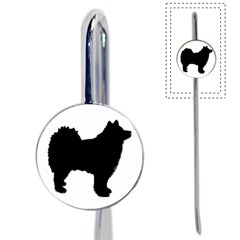 Finnish Lapphund Silhouette Black Book Mark