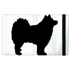 Finnish Lapphund Silhouette Black Apple iPad 3/4 Flip Case