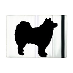 Finnish Lapphund Silhouette Black Apple iPad Mini Flip Case
