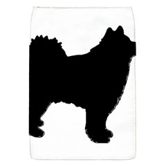 Finnish Lapphund Silhouette Black Flap Covers (S)