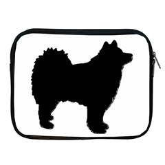 Finnish Lapphund Silhouette Black Apple iPad 2/3/4 Zipper Cases