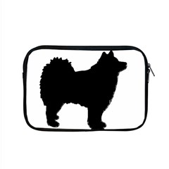 Finnish Lapphund Silhouette Black Apple MacBook Pro 15  Zipper Case