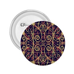 Tribal Ornate Pattern 2.25  Buttons