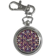 Tribal Ornate Pattern Key Chain Watches