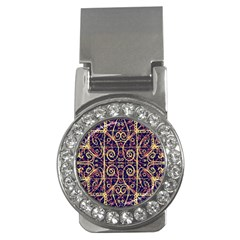 Tribal Ornate Pattern Money Clips (CZ)