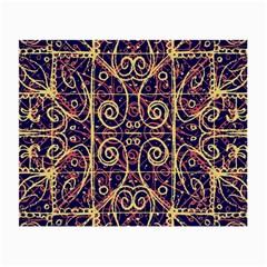 Tribal Ornate Pattern Small Glasses Cloth