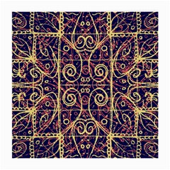 Tribal Ornate Pattern Medium Glasses Cloth