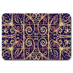 Tribal Ornate Pattern Large Doormat