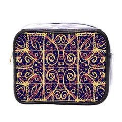 Tribal Ornate Pattern Mini Toiletries Bags