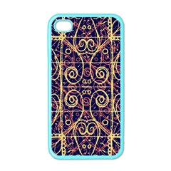 Tribal Ornate Pattern Apple iPhone 4 Case (Color)